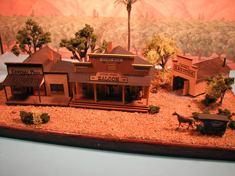 Alpine Division Scale Models 571 Old town buildings 3/