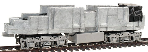 Stewart 1211 HO Sound Chassis FT Units A Dummy with Silver Sideframes