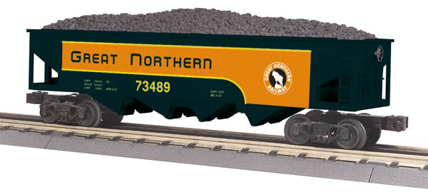MTH 30-75429 O Great Northern 4-Bay Hopper #73489