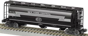 American Flyer 6-48656 S Scale New York Central Norfolk Southern Heritage  Cylindrical Hopper