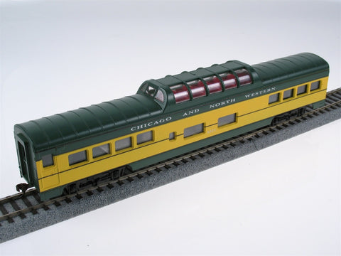 Con-Cor 956 HO Chicago & North Western 72' Streamline Dome