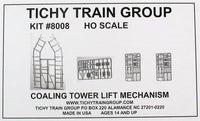 Tichy 8008 HO Coaling Tower Lift Mechanisoms Kit