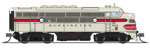 Broadway Limited 3481 N Chicago,Burlington & Quincy EMD F3 A/B Diesel Loco