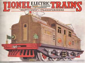 Lionel 9-31021 1927 Catalog Cover Mouse Pad