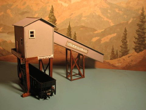 Alpine Division Scale Models 1905 Black Bart Mine and Shaft