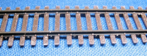 "Micro Engineering 12-124 N Code 55 36"" Weathered Flex-Track"