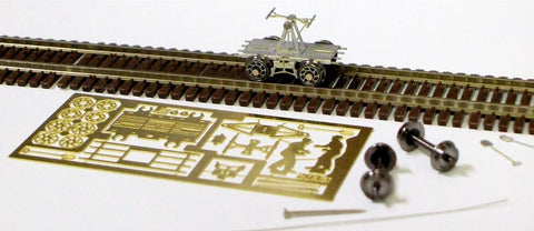 Micron Art 2013 N Crew Type Handcar Brass Kit