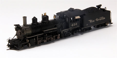 Blackstone Models 310126WS HOn3 Denver & Rio Grande Western K-27 Steam Loco w/Sound & DCC #456