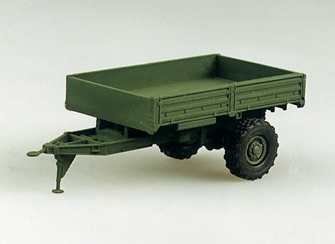 Trident Miniatures 81009 1:87 M1082 LMTV Single-Axle 2.5-Ton Trailer Plastic Kit