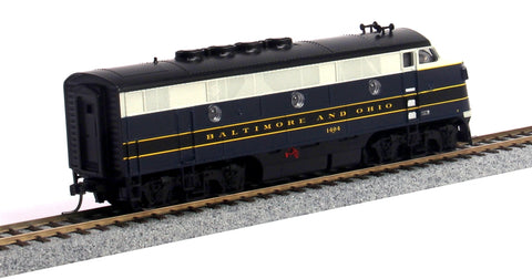 MTH 85-2009-0 Baltimore & Ohio HO Scale F3A #1404/DCC Ready