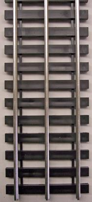 "Gargraves BTO 502F Gargraves 502 Std. Gauge 3 Rail Stainless 37"" Wood Tie Flex Track"