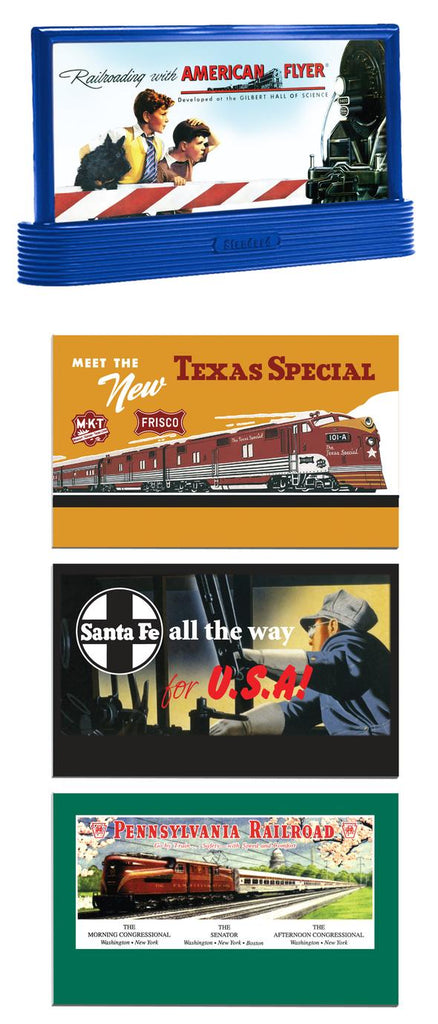 American Flyer 6-49861 S Scale Classic Billboard (Set of 2)