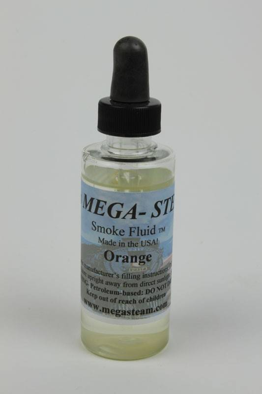 JT's Mega Steam 127 Orange Smoke Fluid - 2 oz. Bottle
