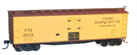 Accurail 48351 HO PM 40' WOOD REEFER
