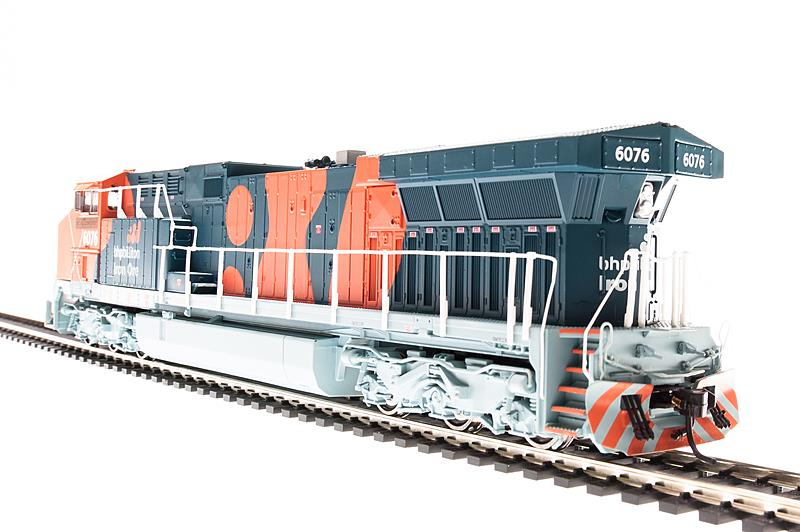 Broadway Limited 2603 HO BHP Iron Ore GE AC6000CW Paragon2