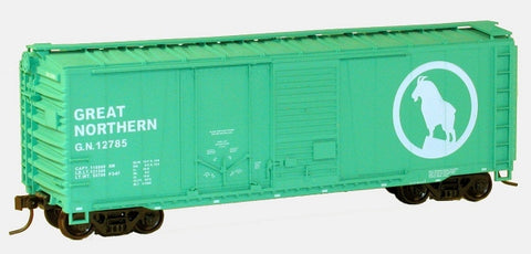 Accurail 3814 HO KIT 40' Combo Door Box, GN