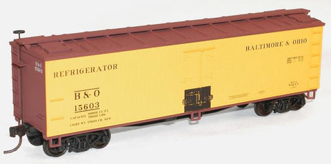 Accurail 4845 HO B&O 40' Wood Reefer Car