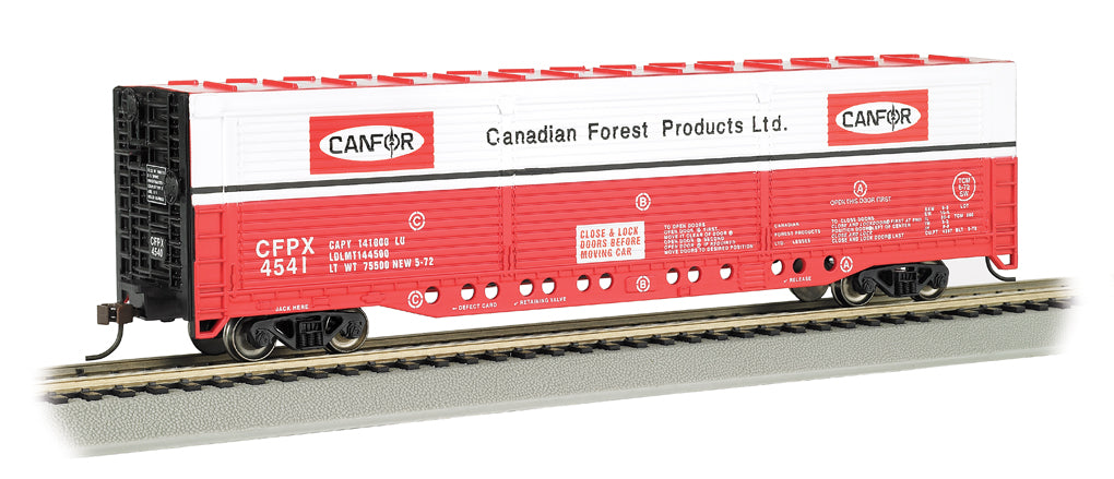 Bachmann 18141 HO Canadian Forest Products CFPX Evans All-Door Boxcar #4541