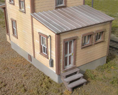 B.T.S. 17701 O Scale 112 2nd Street 2-Story House Craftsman Building Kit