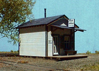 B.T.S. 17233 O Scale Cabin Creek Post Office Craftsman Building Kit