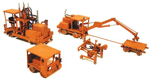 Durango Press 100 HO Track Equipment Set