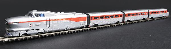 Con-Cor 8764 Union Pacific AeroTrain Coach Set (3)