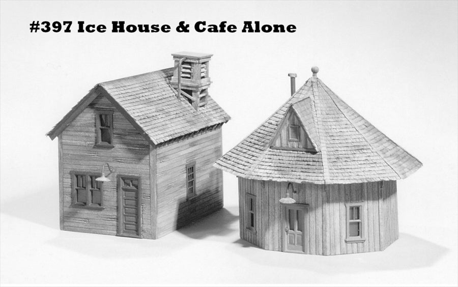 Campbell Scale Models 397 HO Ice House & Cafe