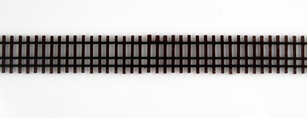 "Micro Engineering 12-110 HO/HOn3 Code 70 36"" Weathered Dual Gauge Flex-Track"