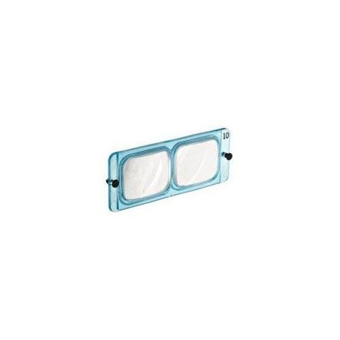 Donegan Optical Company 5 OSC Optisight Magnifying Visor With 3 Lens Plates