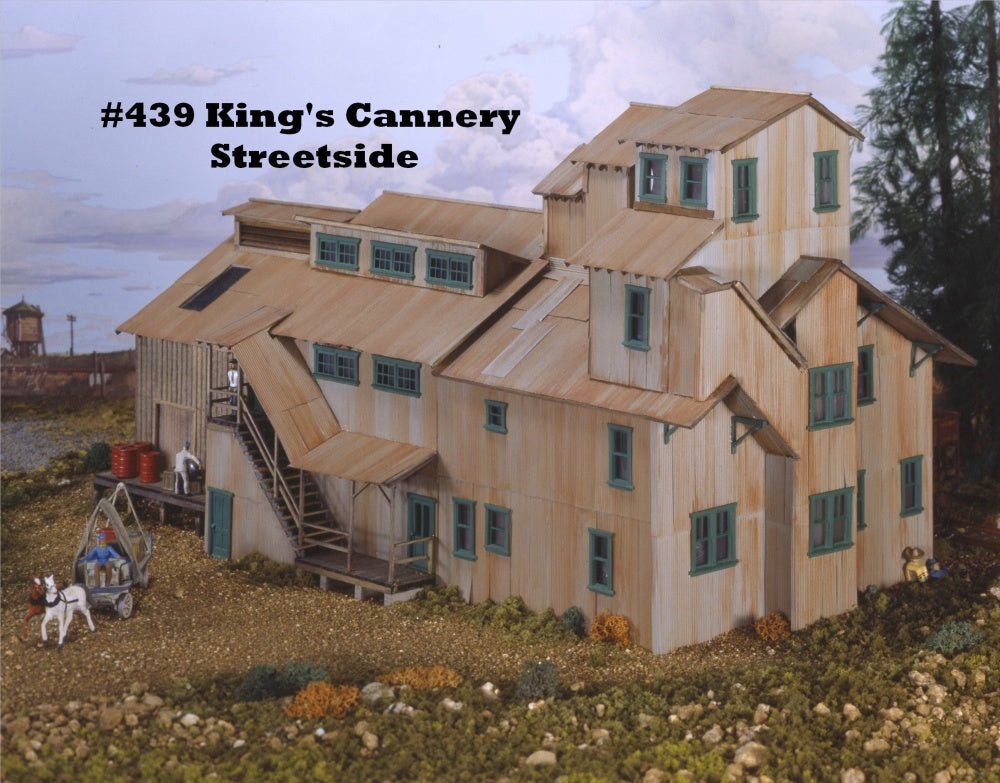 Campbell Scale Models 439 HO King's Cannery Building Kit