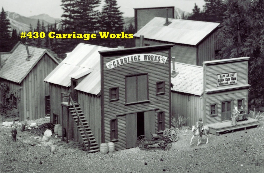 Campbell Scale Models 430 HO Carriage Works