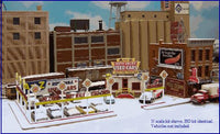 Blair Line 097 N A-to-Z Used Cars Laser-Cut Building Kit