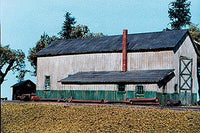 American Model Builders 708 Laser Art 1-Stall Engine House Lineside HO Scale Kit