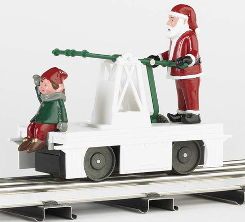 Williams 23803 O Operating Handcar Christmas