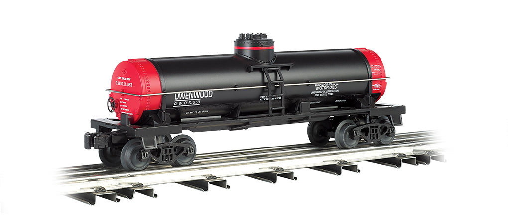 Williams 48104 O Owenwood Motor Oil Single Dome Tank Car
