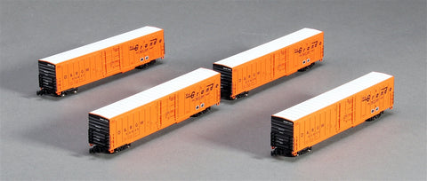 American Z-Line 6-56849 PC&F Beer Car D&RGW (4)