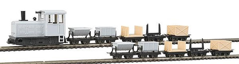 Big City Hobbies 168-5050 HOn30 Undecorated Dump Car Set (10)