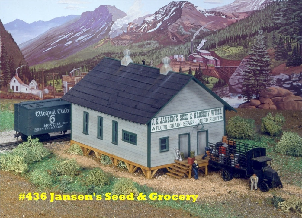 Campbell Scale Models 436 HO Grocery Warehouse