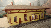 Alpine Division Scale Models 700-5804 Rural NH RR Pass Station