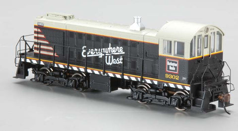 Bachmann 63310 HO Chicago Burlington and Quincy Alco S2 Diesel  #9302