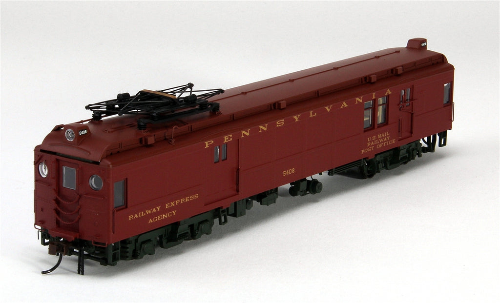 Con-Cor 194575 Electric Non-Powered mP54 MU Baggage-Mail w/Pantograph - Ready to Run