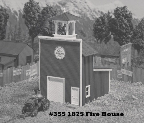 Campbell Scale Models 355 HO 1875 Fire House