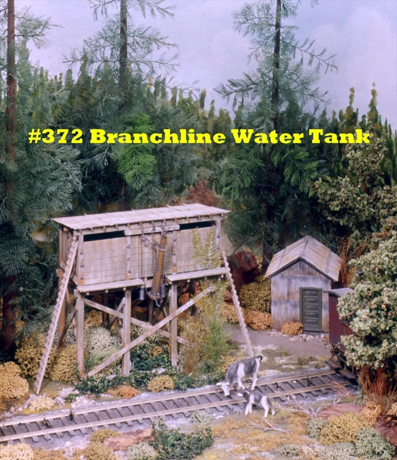 Campbell Scale Models 372 HO Branch Line Water Tank & Tool House