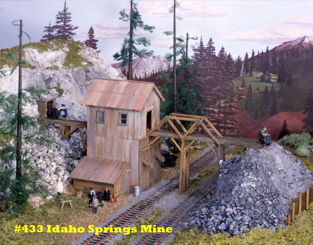 Campbell Scale Models 433 HO Idaho Springs Mine
