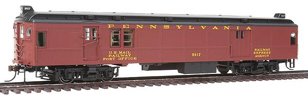 Con-Cor 194630 Electric Non-Powered mP54 MU Baggage-Mail, No Pantograph - Ready to Run