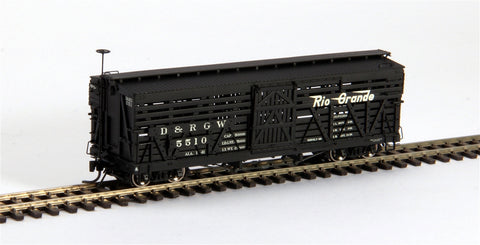 Blackstone Models 340229 HOn3 Denver & Rio Grande Western 5500-Series 30' Stock Car #5723