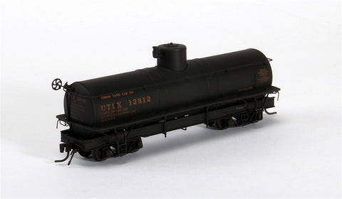 Blackstone Models 340609W HOn3 Union Tank Line UTLX Narrow-Frame Tank Car #13119 - Weathered