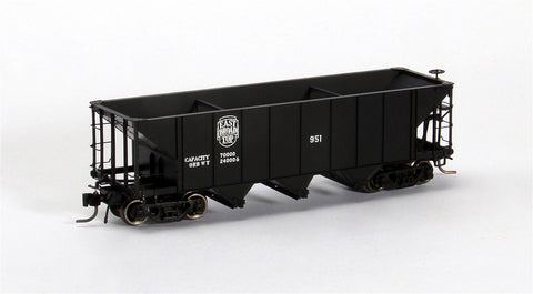Blackstone Models 340706 HOn3 East Broad Top 3-Bay Hopper #1071