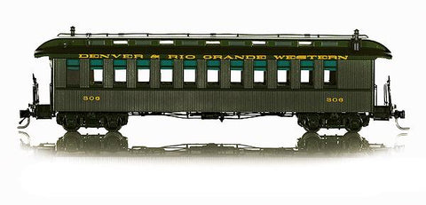 Blackstone Models 350112 HO Rio Grande Chili Line Jackson & Sharp Coach (3)