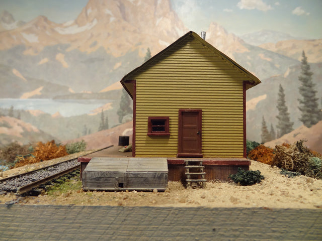 Alpine Division Scale Models 700-5805 Rural NH RR Frt St  Kit